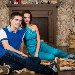 фотосъемка влюбленных, семейная фотосъемка, семейный фотограф, фотосессия для двоих в студии, фотограф Москва, семейная фотосессия, фотосессия в студии