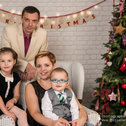 Новогодняя фотосъемка, новогодняя фотосессия, семейная фотосъемка, семейная фотосъемка в студии, семейный фотограф, детский фотограф, фотограф Москва