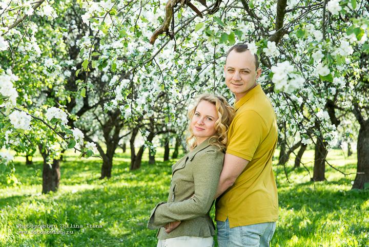 яблони, фотосессия Москва, фотограф Москва, семейная фотосъемка,