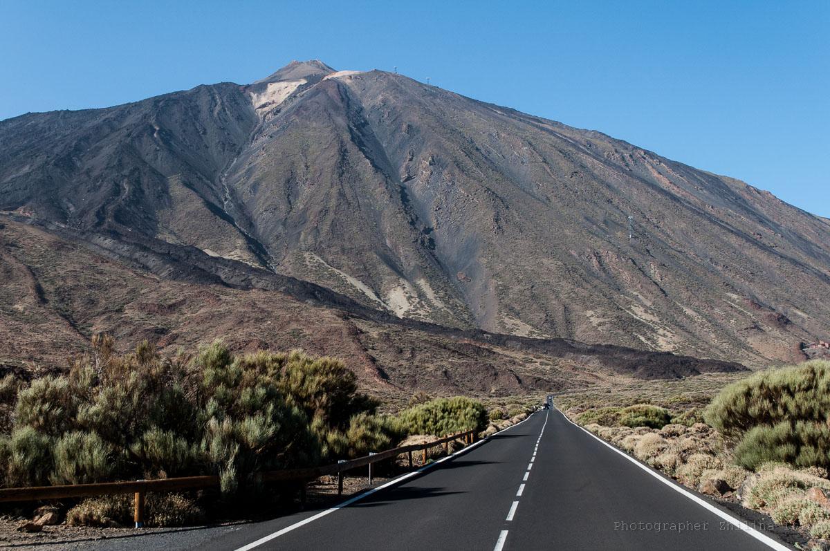 шоссе Каньядас дель Тейде