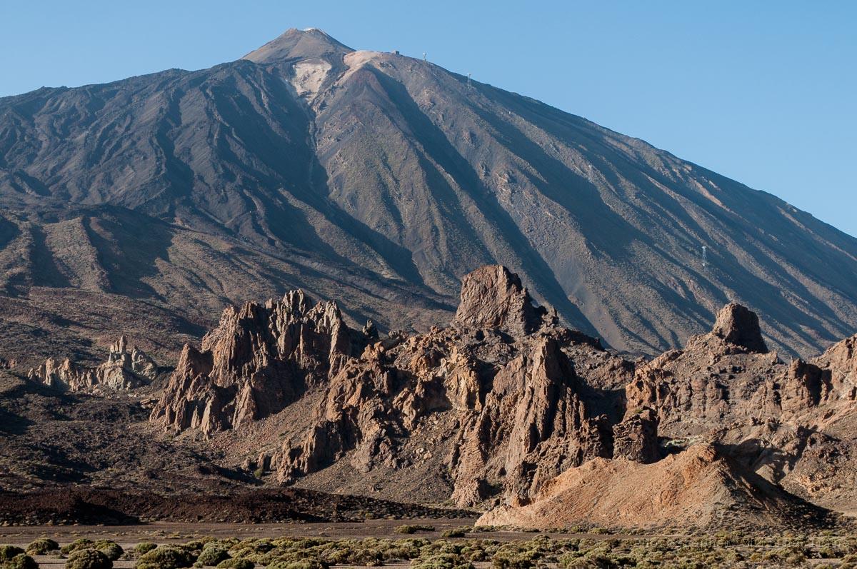 Скалы де Гарсия Roques de García и Тейде