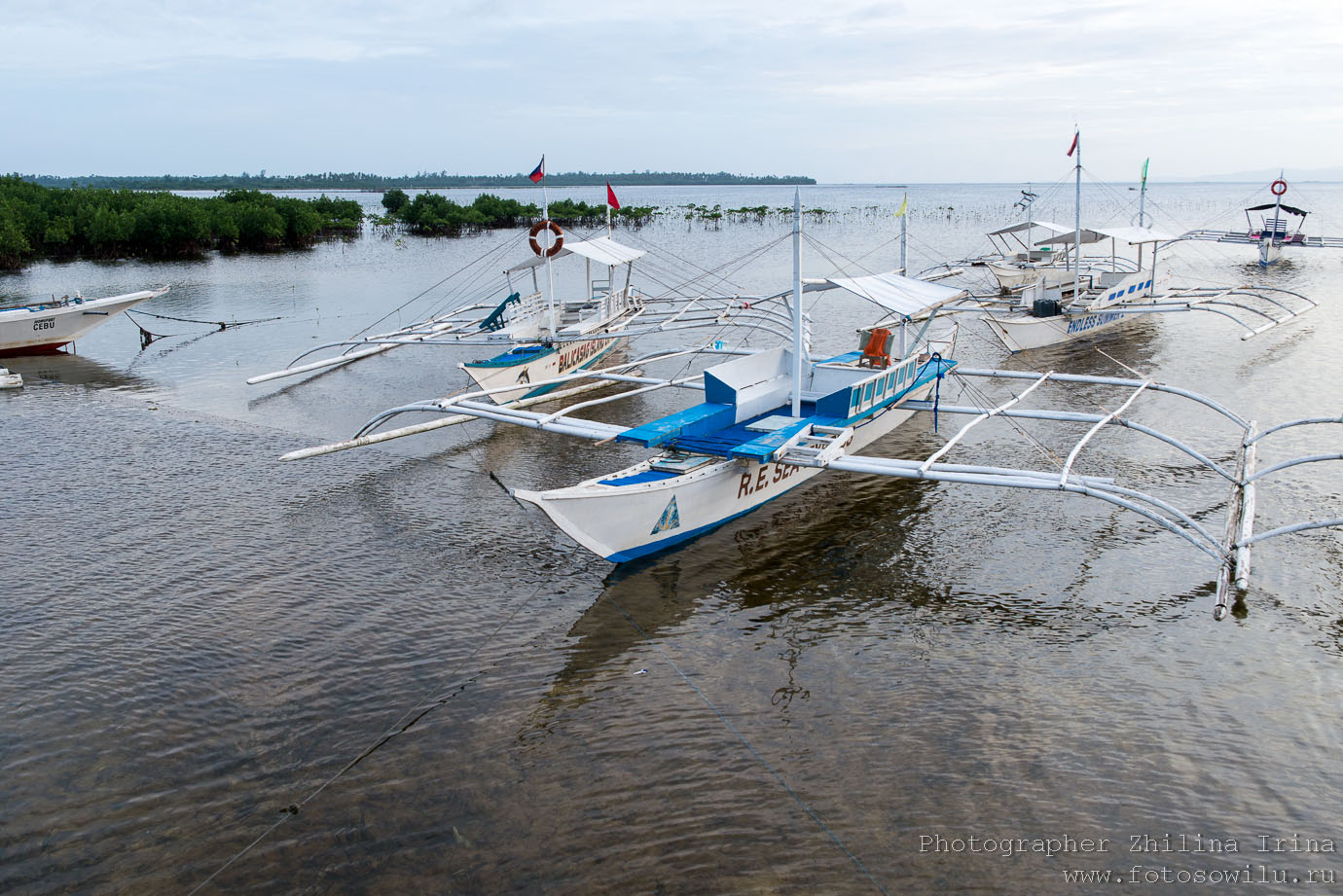 Алона Бич, Панглао, Данао, Alona beach