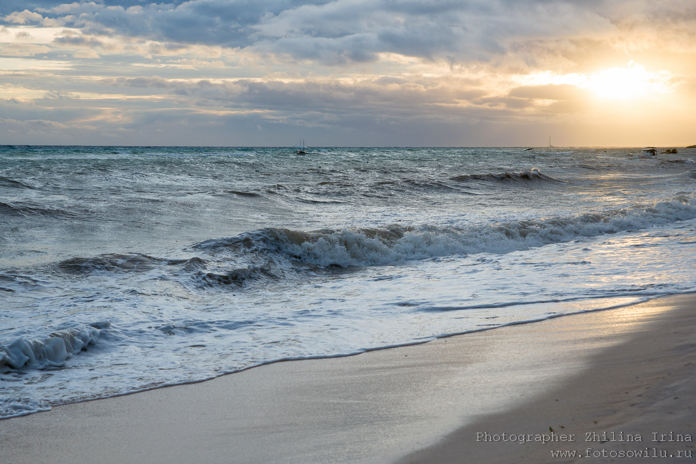 Алона Бич, Панглао, тайфун, Alona beach
