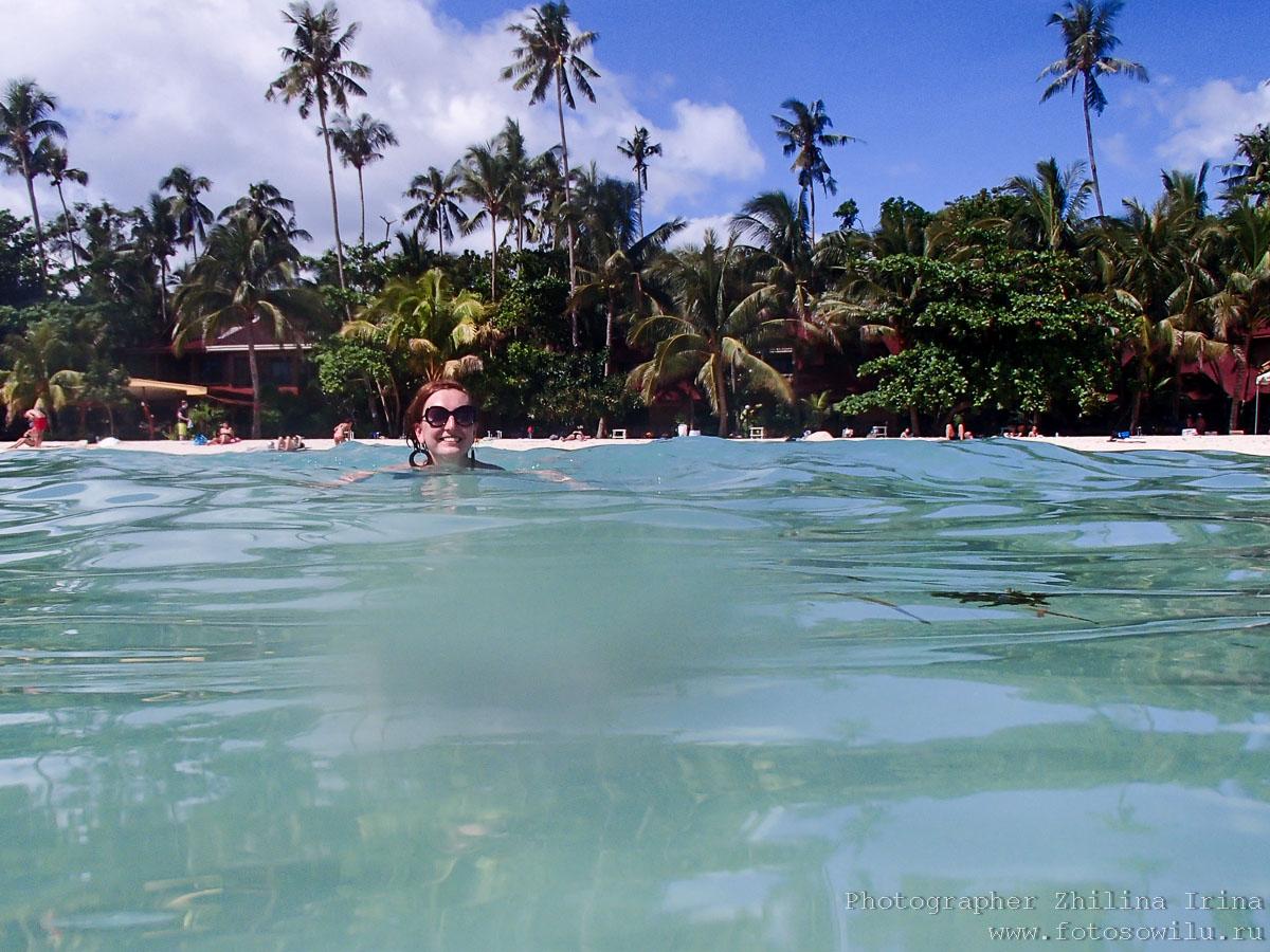 Алона Бич, Панглао, Филиппины, солнце, Alona beach