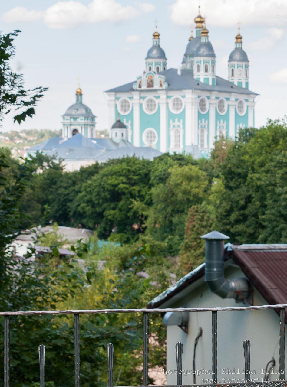 Смоленск, что смотреть в России, города России, поездки по России, отдых в России, Успенский собор