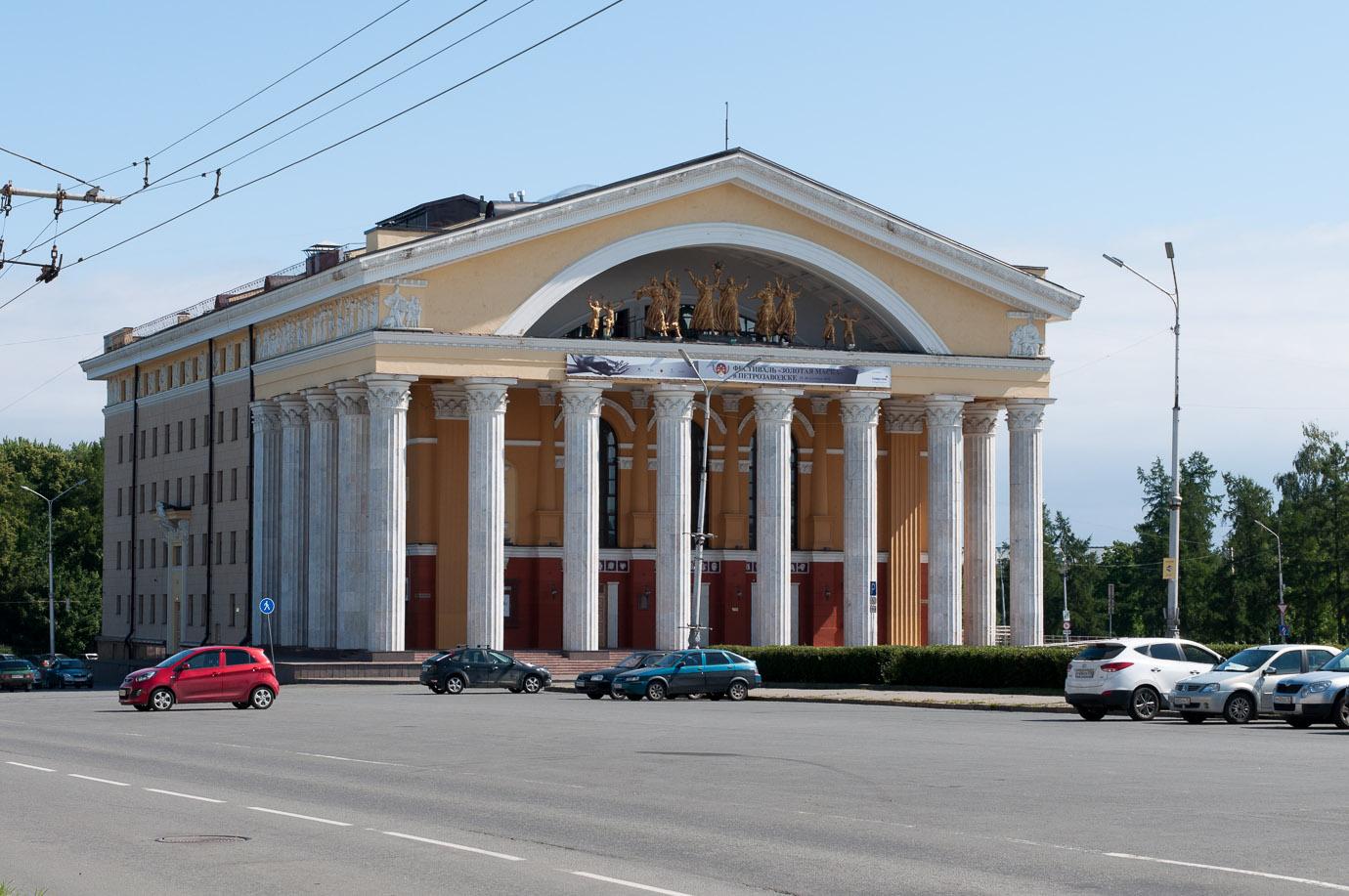 Петрозаводстк, фото, Карелия, куда поехать в России, отдых в России, музыкальный театр республики Карелия