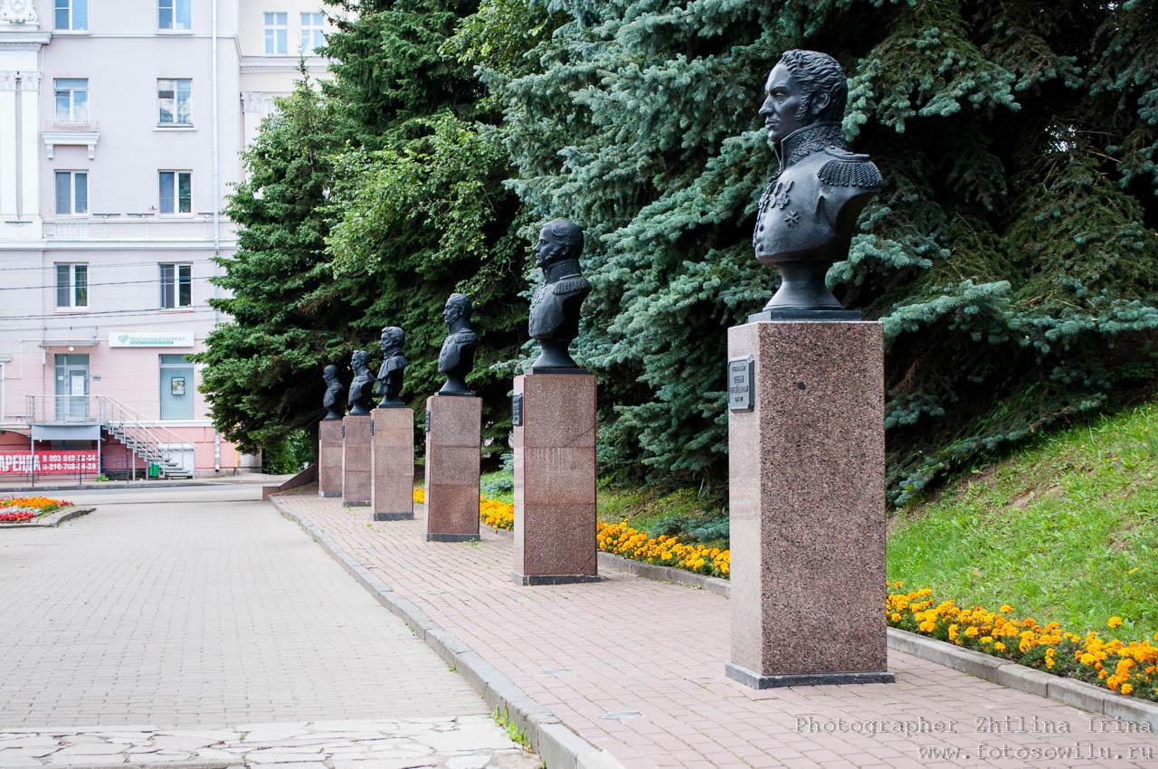 Смоленск, что смотреть в России, города России, поездки по России, отдых в России, памятники героям 1812 года