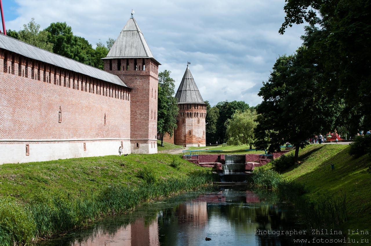 Смоленск, что смотреть в России, города России, поездки по России, отдых в России, крепостная стена, аллея Мира