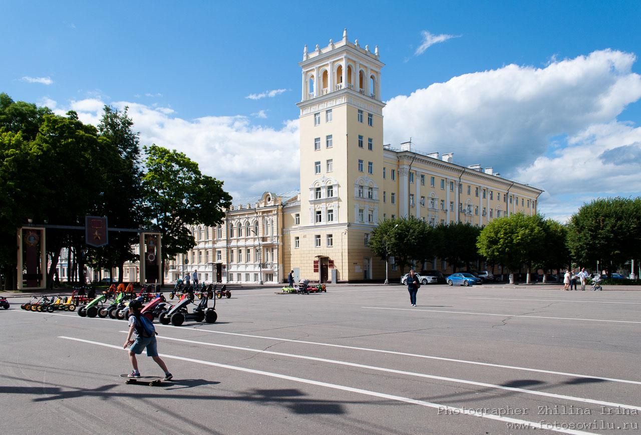 Смоленск, что смотреть в России, города России, поездки по России, отдых в России, крепостная стена, Ленина