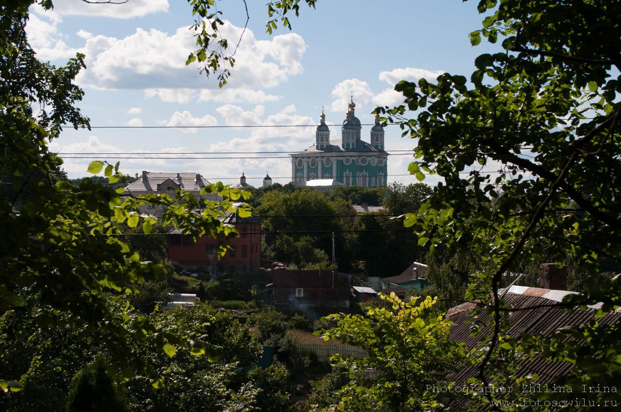прогулка по Смоленску, что смотреть в России, города России, поездки по России, отдых в России, Успенский собор