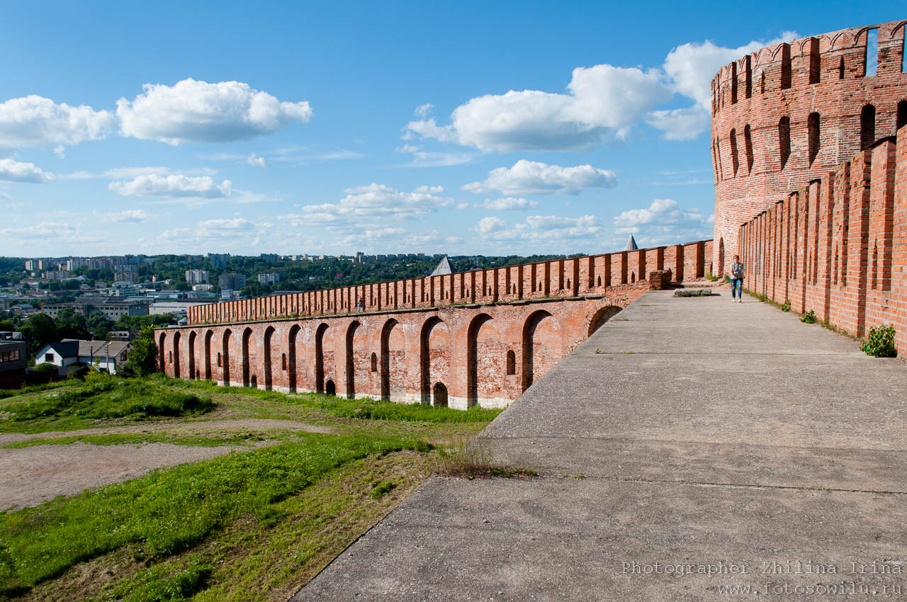 гид по Смоленску, что смотреть в России, города России, поездки по России, отдых в России, крепостная стена