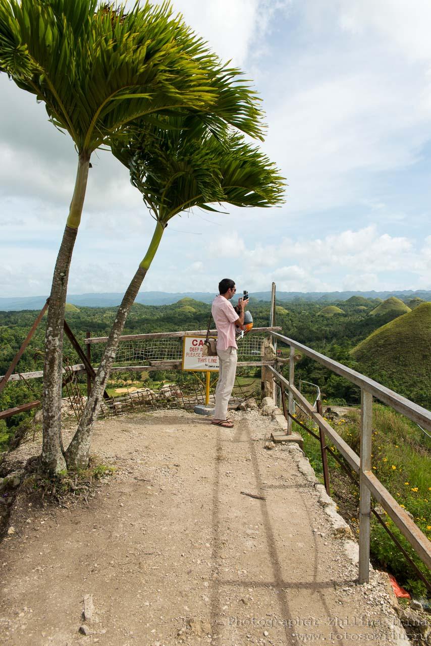 Шоколадные холмы, по Бохолу на мопеде, путешествие по Филиппинам, что смотреть на Филиппинах, что смотреть на Бохоле,