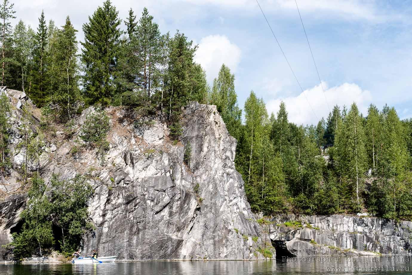Рускеала, Карелия, горный парк, куда поехать отдыхать, отдых в России, что смотреть в России