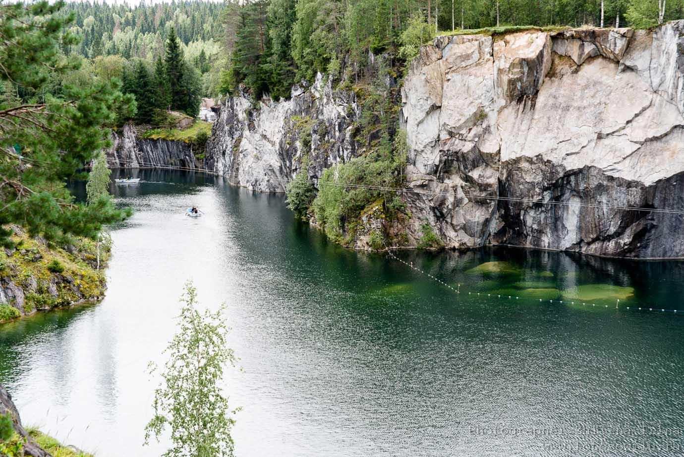 Горный парк, Мраморный карьер, Карелия, горный парк, куда поехать отдыхать, отдых в России, что смотреть в России
