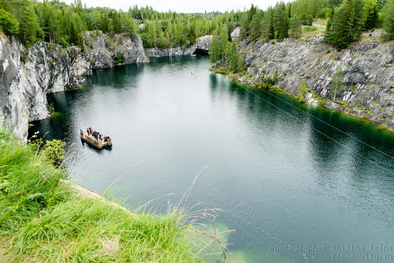 Рускеала, Карелия, горный парк, куда поехать отдыхать, отдых в России, что смотреть в России, мраморный карьер