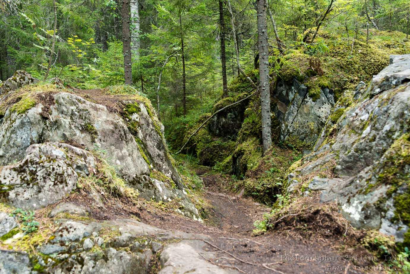 Рускеальские водопады, Карелия, горный парк, куда поехать отдыхать, отдых в России, что смотреть в России,
