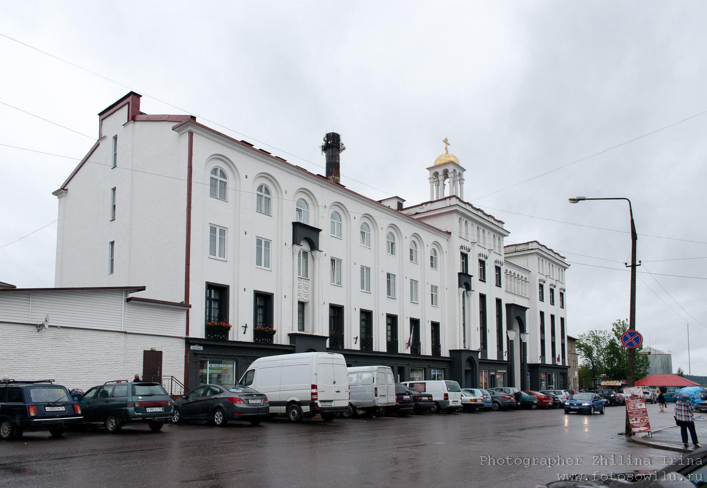 Карелия, туризм в России,, Здание бывшего управления православной церкви Финляндии чьто смотреть в России, куда поехать в России, туры по России